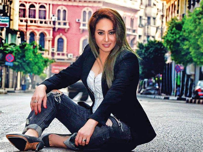 الفنانة رحاب الجمل -مسلسل شقة 6