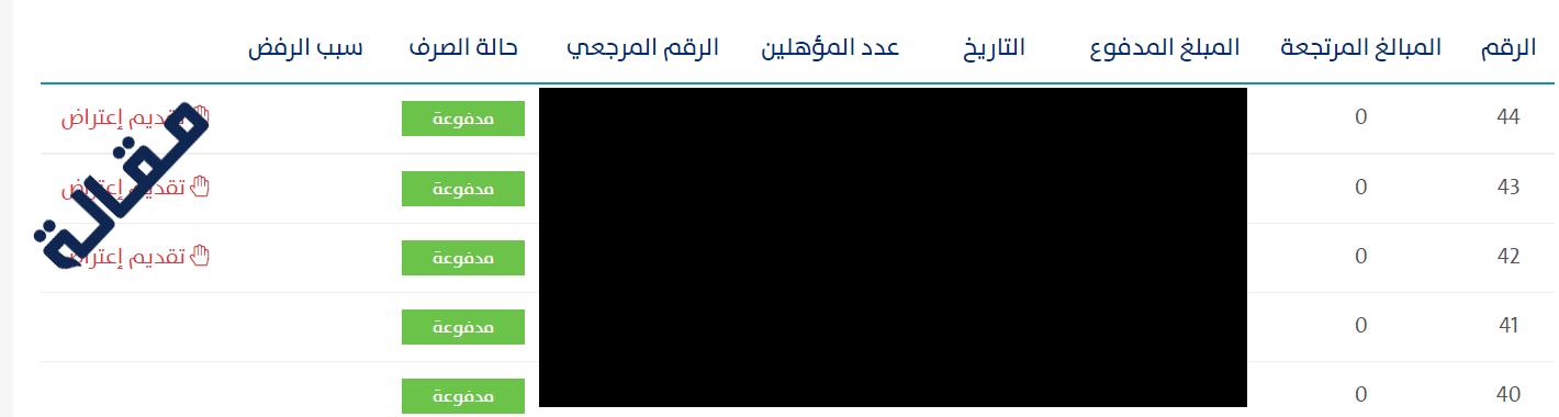 رابط اعتراض حساب المواطن