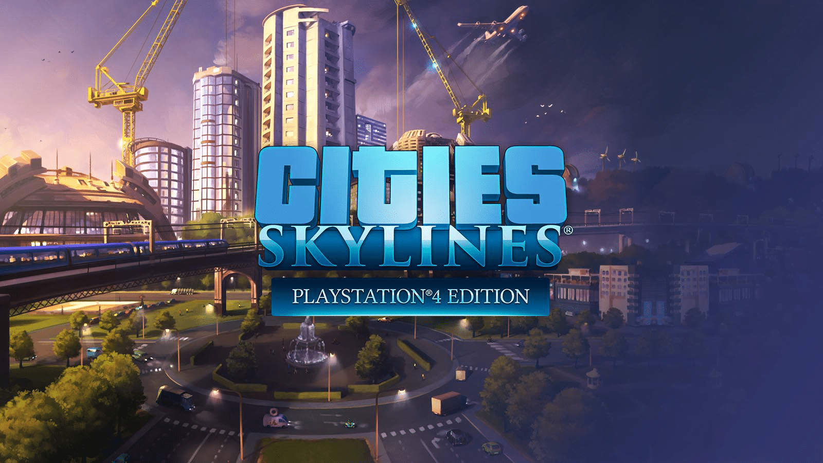 لعبة محاكاة بناء المدن Cities SkyLines