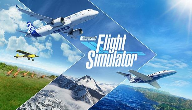 لعبة محاكي الطائرات Flight Simulator