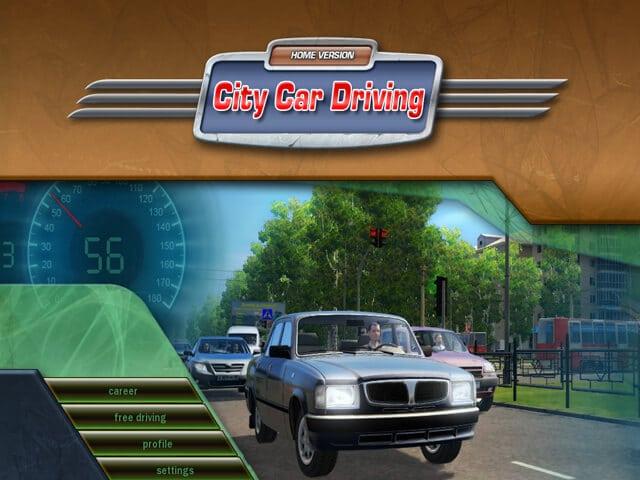 لعبة محاكي القيادة City Car Driving