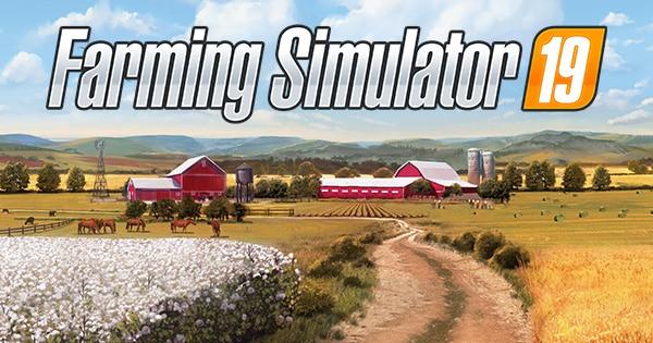 لعبة محاكي المزارع Farming Simulator 19
